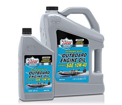 Synthetic SAE 10W-40 Outboard Engine Oil