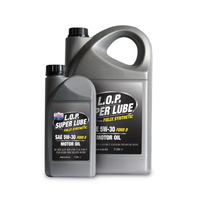 L.O.P. Super Lube Fully Synthetic 5w-30 FORD-D Motor Oil