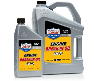 High Zinc Engine Break-In Oil