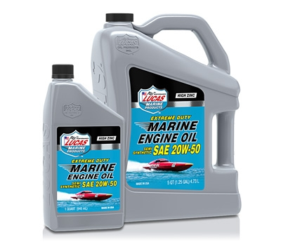 Extreme Duty Marine Semi Synthetic 20W-50 Engine Oil