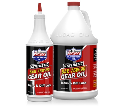 SAE 75W-90 Synthetic Gear Oil