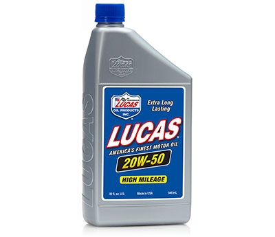 20W-50 Plus High Performance Oil