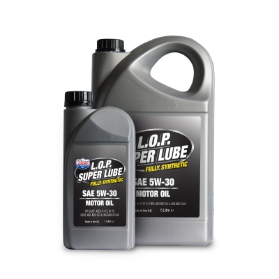 L.O.P. Super Lube Fully Synthetic 5w-30 Motor Oil